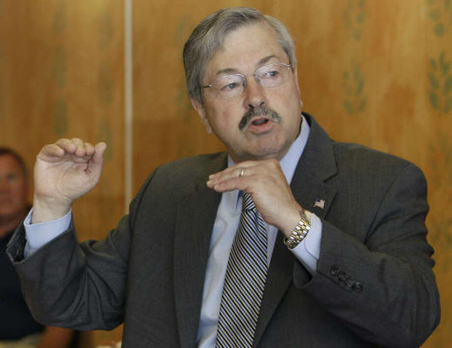 Terry Branstad State: Iowa RSVP: Yes then no Photo: Charlie Neibergall, Associated Press
