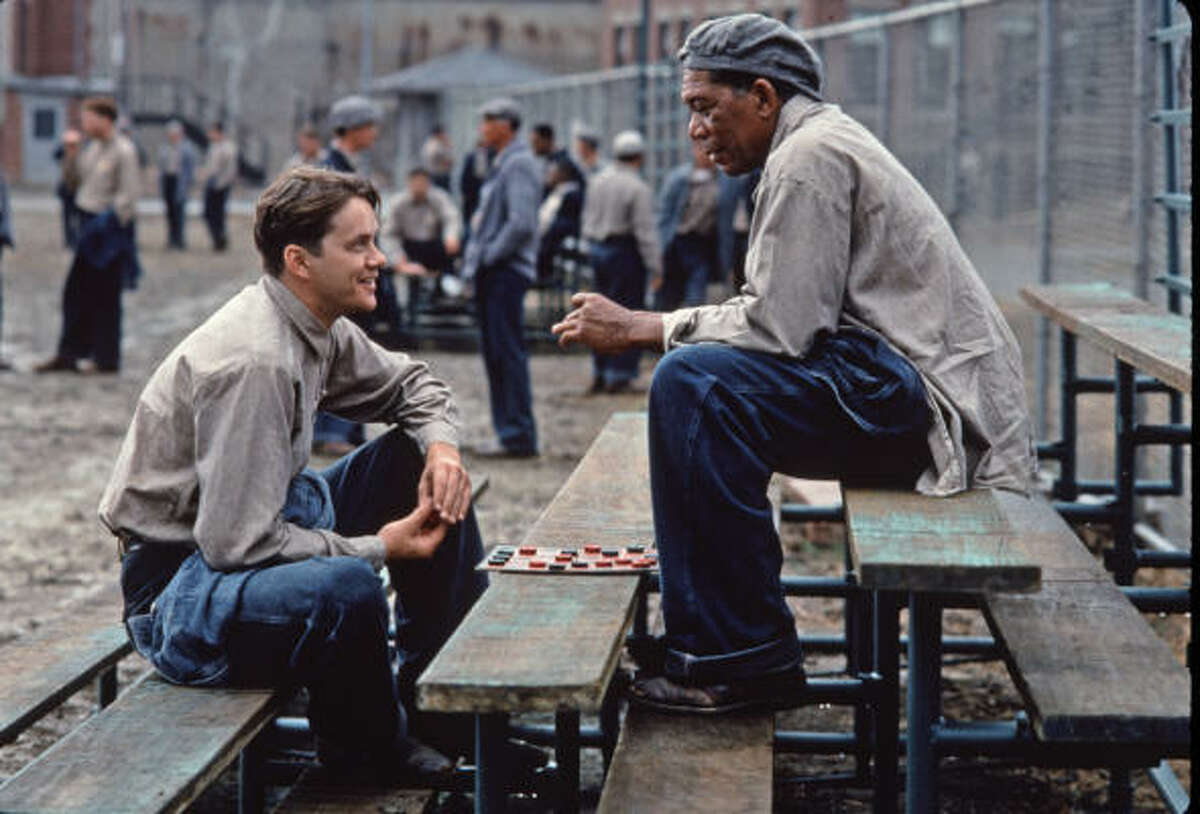 Morgan Freeman as Ellis Boyd 'Red' Redding in The Shawshank Redemption. (1994)