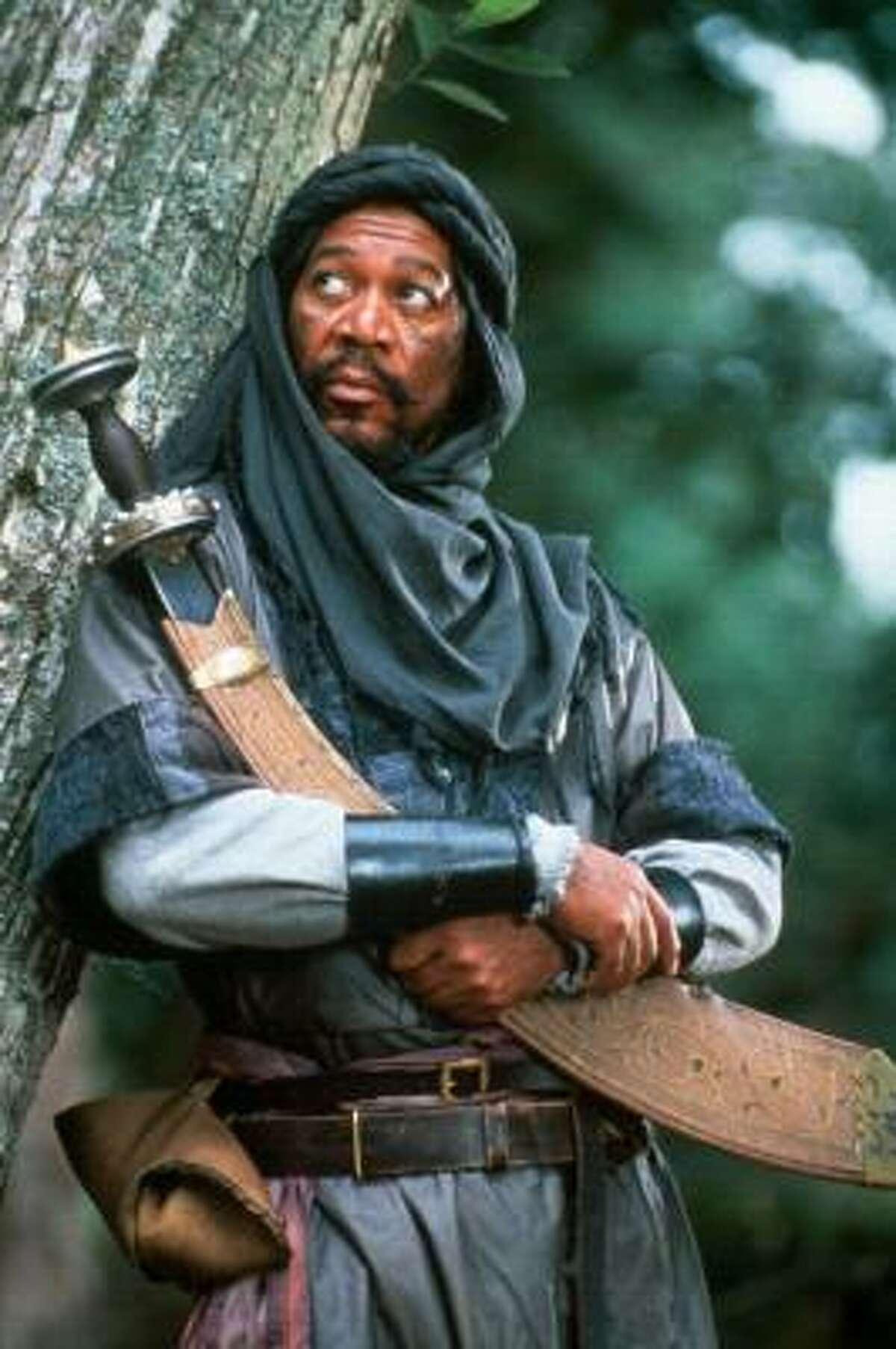 Morgan Freeman as Azeem in Robin Hood: Prince of Thieves. (1991)