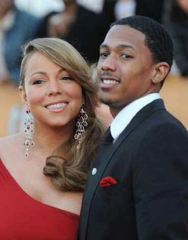 Mariah Carey and husband Nick Cannon have twins, a boy named Moroccan and a girl named Monroe. Photo: Frazer Harrison, Getty