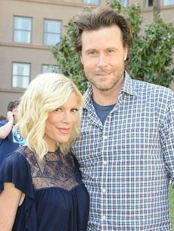 Tori Spelling and Dean McDermott are having a third baby together. Photo: Jason Merritt, Getty