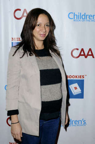 Maya Rudolph gave birth to her third baby. It's a boy this time. Photo: Katy Winn, AP