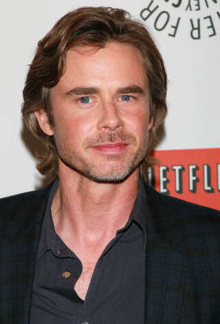 True Blood actor, Sam Trammell, and his girlfriend are expecting twins. Photo: David Livingston, Getty Images