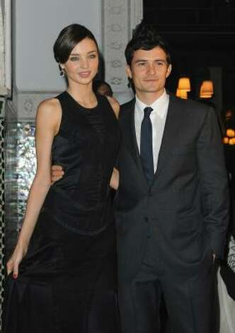Miranda Kerr and Orlando Bloom just welcomed their first baby. The boy was reportedly almost 10 pounds. Photo: Pascal Le Segretain, Getty Images
