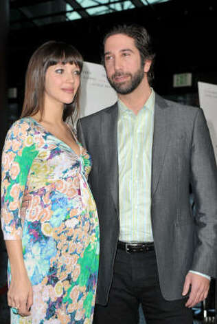 David Schwimmer and wife Zoe Buckman are first-time parents to a little girl. Photo: Alberto E. Rodriguez, Getty Images