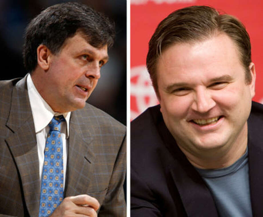 After interviewing 11 coaching candidates that included former Rockets Mario Elie and Sam Cassell, the Rockets trimmed down the list to three -- Kevin McHale (left), Dwayne Casey and Lawrence Frank. It took three more interviews for Rockets owner Leslie Alexander and GM Daryl Morey (right) to choose McHale as the next Rockets coach.      Now, it's up to Morey and McHale to turn this Rockets team into a playoff contender. Part of that process includes retooling the roster. Give Morey and McHale advice on the Rockets personnel.  Do you keep them or dump them?