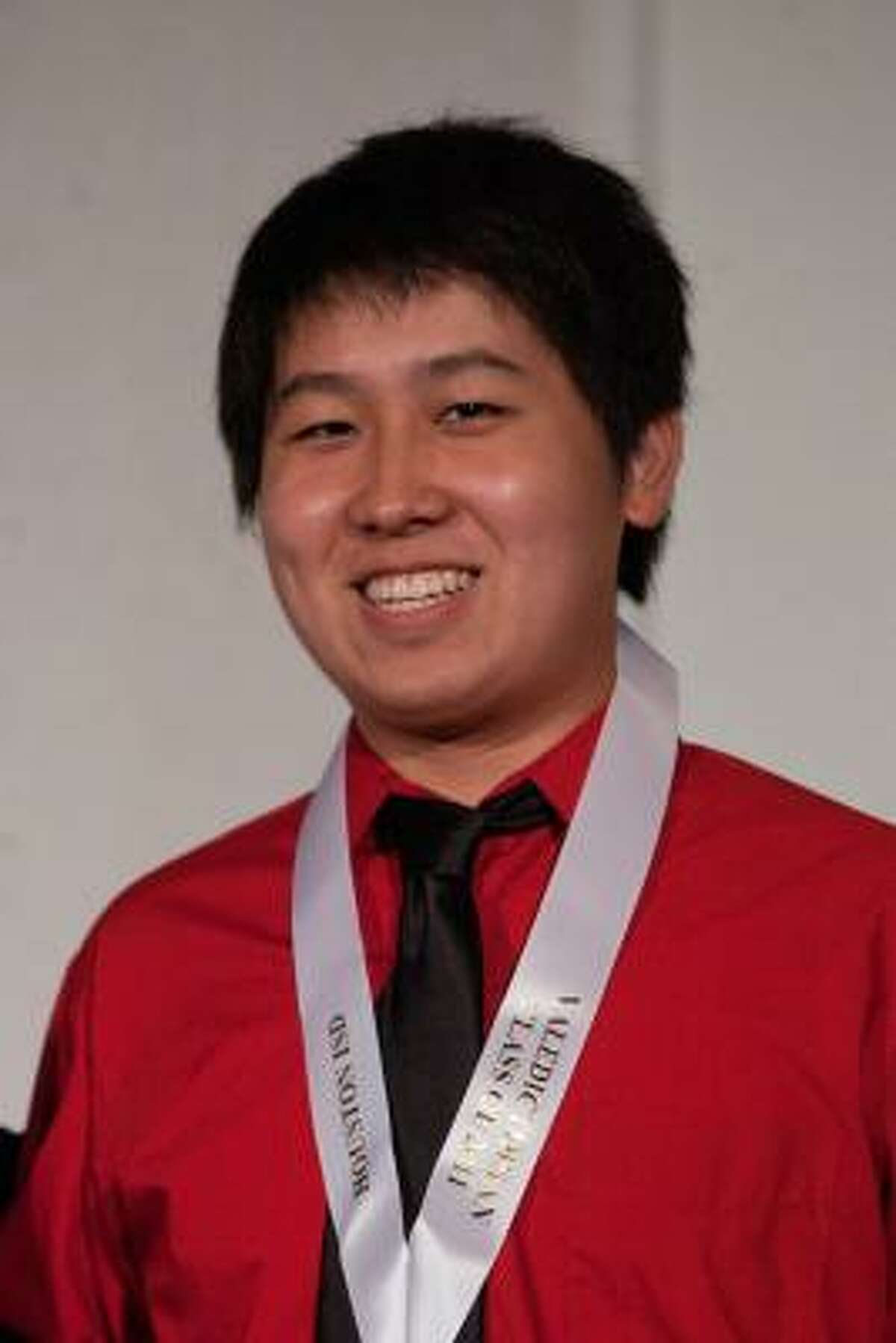 Yue Wu, Bellaire High School Class rank: Valedictorian