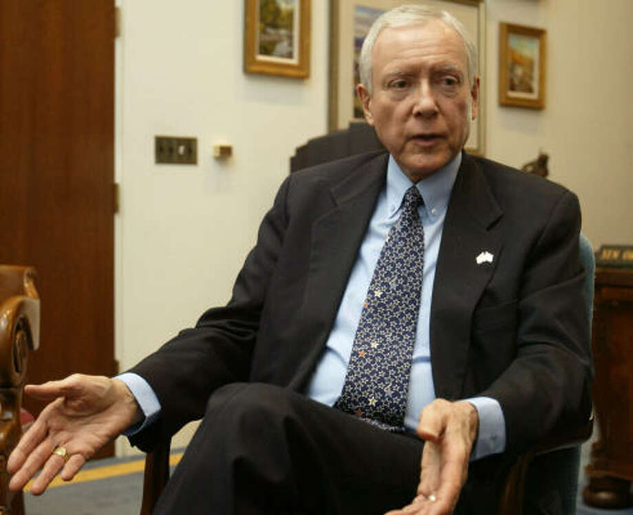 Orrin Hatch has been a Mormon in the Senate since 1976. He represents the state of Utah. Photo: CHUCK KENNEDY, KRT