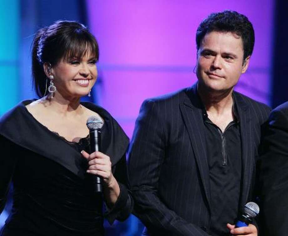 Donnie and Marie Osmond will perform at Foxwoods on Thursday, Friday, Saturday and Sunday. Find out more.  Photo: Ethan Miller, Getty Images
