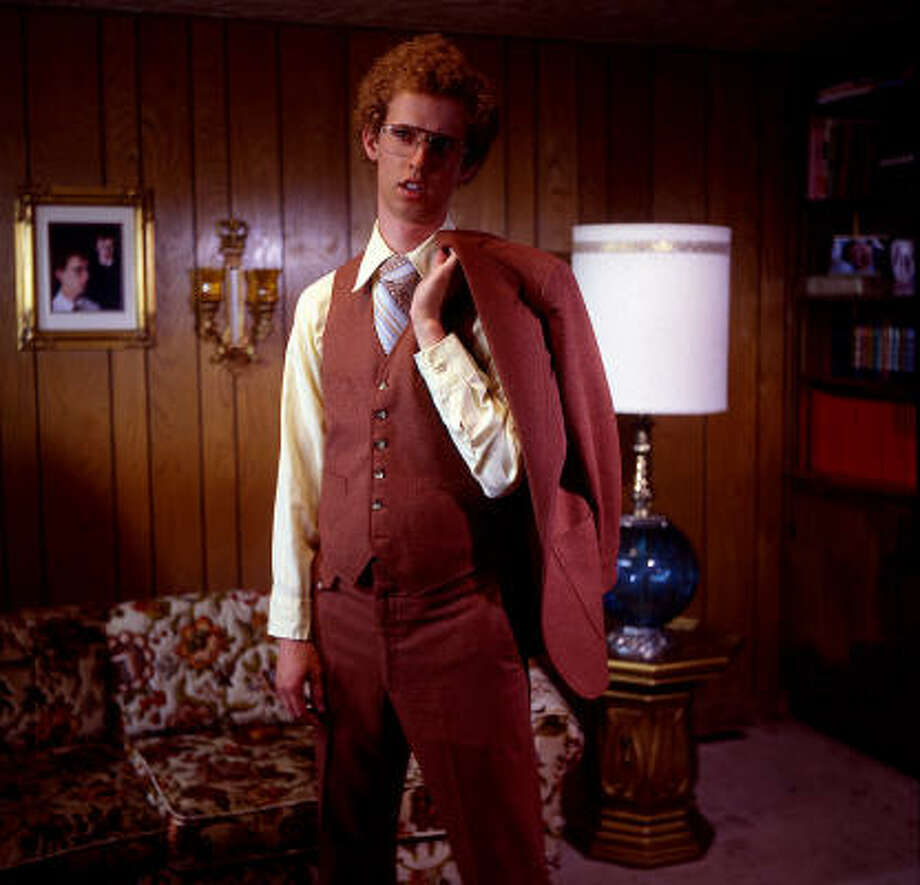 """Jon Heder,who plays the title character in """"Napoleon Dynamite,"""" thinks Mormonism is flippin awesome.  (As does Aaron Ruell, the actor who plays Napoleon's brother Kip and a fellow Mormon.) Photo: Twentieth Century Fox"""