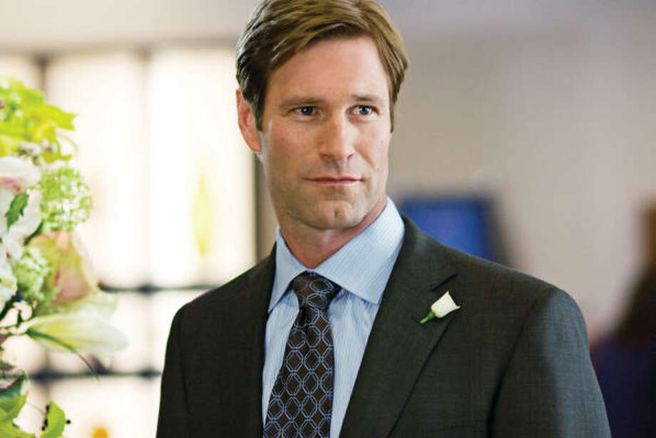 "Aaron Eckhart, the actor who plays Harvey Dent/Two-Face in ""The Dark Knight,"" went on a two-year mission in Europe and graduated from BYU.  He now describes himself as ""in and out"" of the church. Photo: Kimberley French, Universal Pictures"