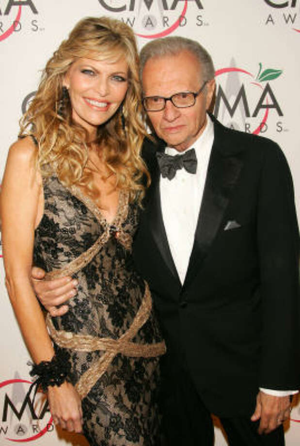 Larry King is certainly not a Mormon (he's a secular Jew), but he attends services with his wife, country singer Shawn King, who's a member of the church. Photo: Evan Agostini, Getty Images