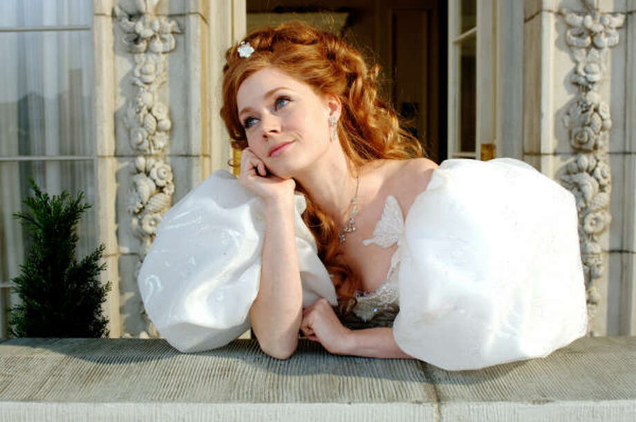 """Enchanted"" princess and Mormon-no-more Amy Adams was raised in a Mormon family with seven kids.  She left the church at age 11 when her parents divorced. Photo: Barry Wetcher, Disney"