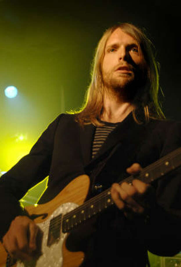 "Maroon 5 guitarist James Valentine no longer considers himself an active member of the church, saying ""This is about as polar-opposite a lifestyle as I was supposed to have, in my adult life. On the road I've gone through times of drinking too much and stuff, I went pretty far outside the bubble. I try to live morally and still have a good time, and I've had to find my own way. It's been a difficult path."" Photo: Joel Ryan, PA"