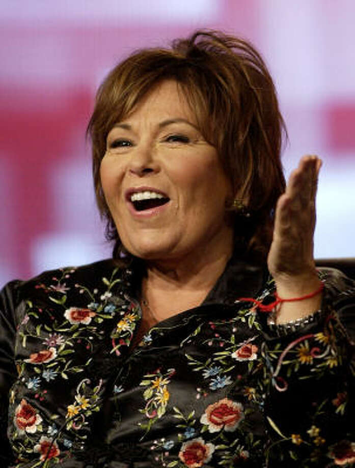 Growing up in a Jewish family in Salt Lake City, loud-mouthed comedian Roseanne Barr attended services and expressed interest in the church in her younger years, but later returned to her fam's Judaism. Photo: KEVORK DJANSEZIAN, AP