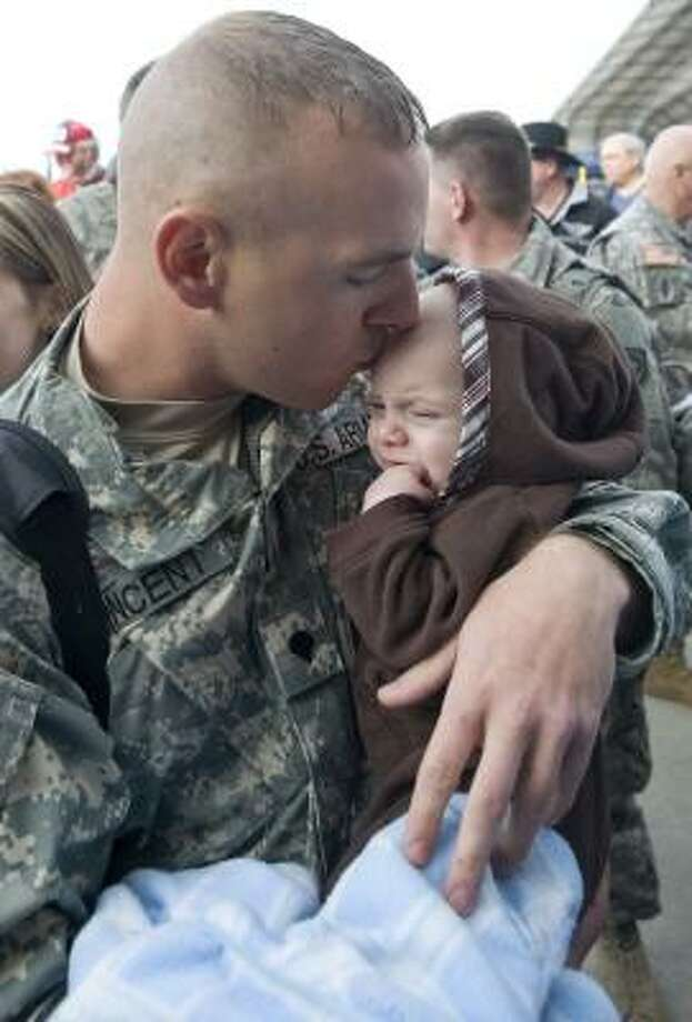 Who: Spc. Brandon Vincent Where: 