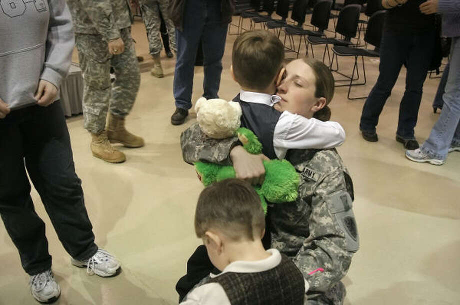 Who:  U.S. Army National Guard Spec. Nicole Tennis Where: 