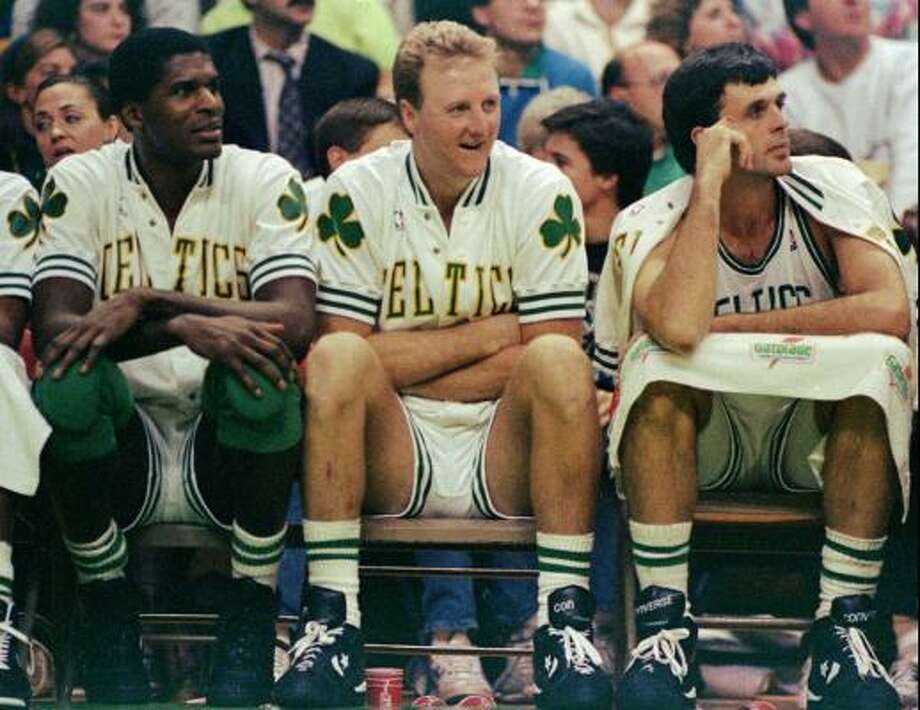 As a member of arguably the greatest trio in NBA history, McHale -- along with teammates Larry Bird and Robert Parish -- won championships in 1981, 1984 and 1986. Photo: Stephan Savoia, AP