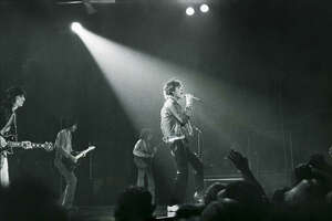 The Rolling Stones perform at the Coliseum in Houston, Wednesday, July 19, 1978.