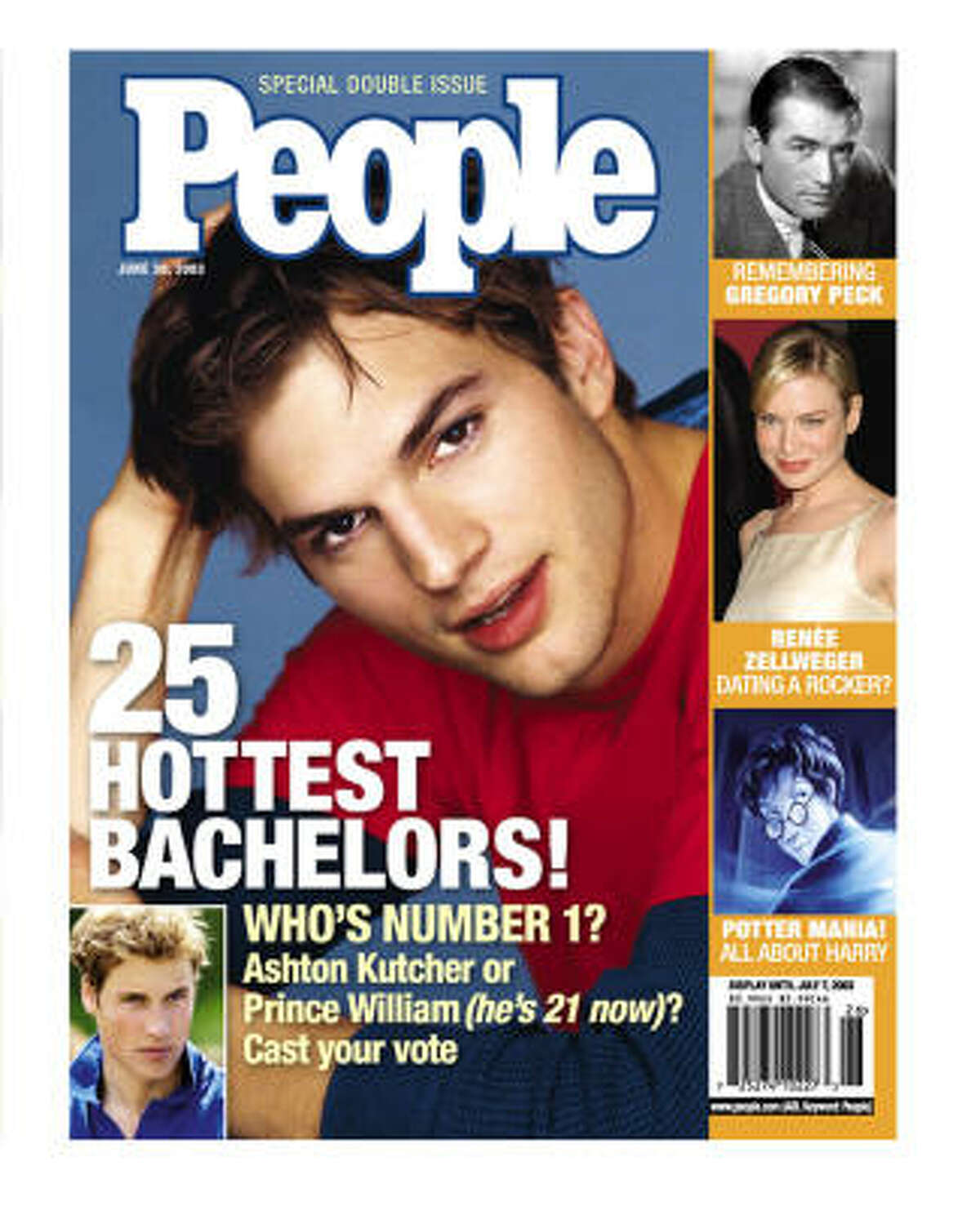 During his pre-Demi days, the model-turned-actor was on the top of People's hottest bachelors list (2003).