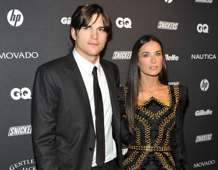 At 33, he's the famously younger hubbie of actress Demi Moore, who's 15 years his senior. Photo: Evan Agostini, AP