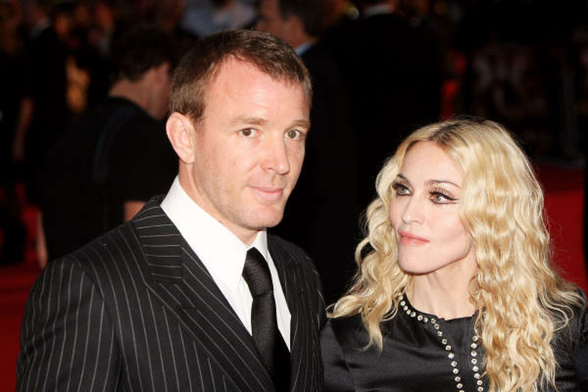 Who: Madonna and Guy Ritchie Married for: 8 years