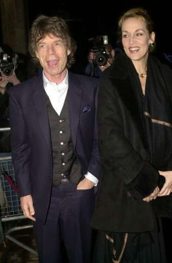 Who:Mick Jagger and Jerry Hall Married for: approximately 8 years Photo: MATTHEW FEARN, AP