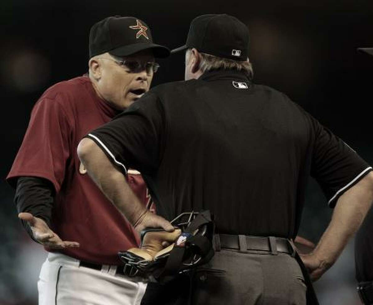 It's been a rough start to the season for manager Brad Mills and the Astros. They are 13-21 and in last place in the National League Central Division. The biggest blame? The pitching.