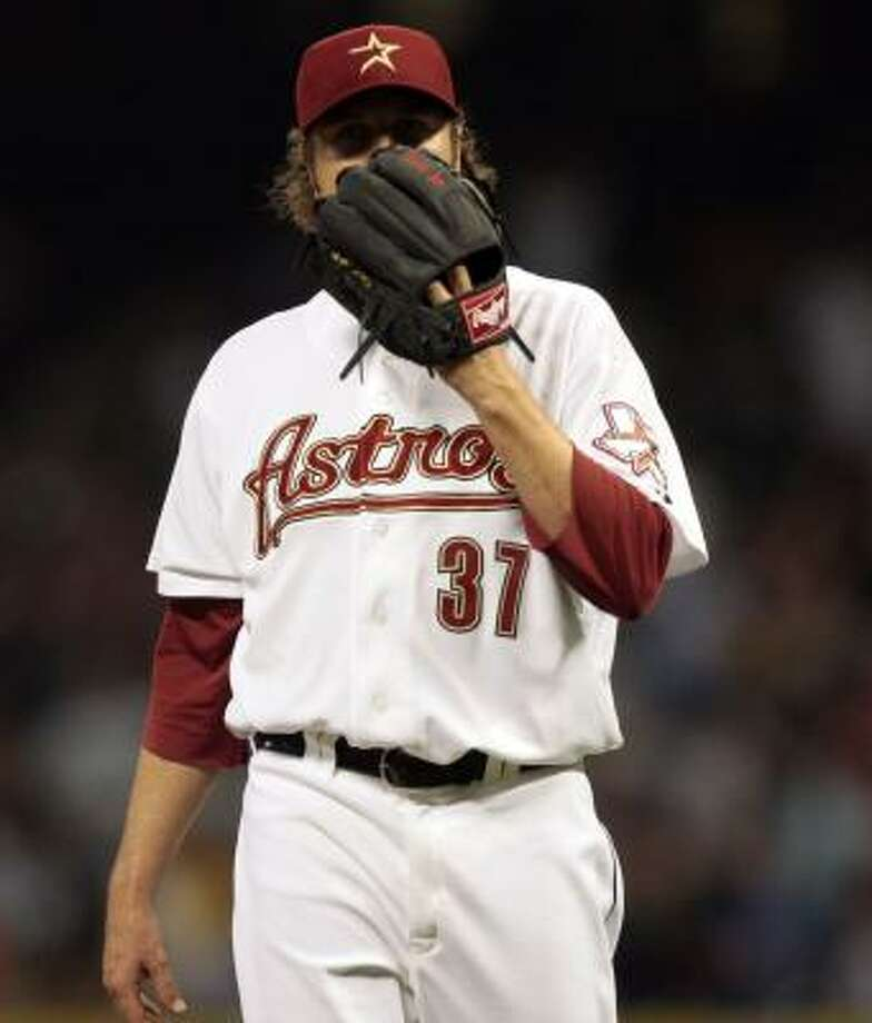 Brandon Lyon: 3-2, 7.15 ERA, 11.1 IP, 21 H, 9 ER, 3 BB, 5 SO   Awful Astros team stat: Blown saves: 9, most in MLB Photo: Bob Levey, Getty
