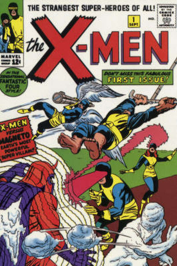 If you have one of these (X-Men No. 1), keep it in a plastic wrapper. Photo: Marvel Comics