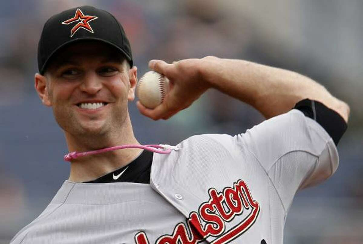 May 8: Pirates 5, Astros 4 Astros pitcher J.A. Happ delivers during his start in Pittsburgh.