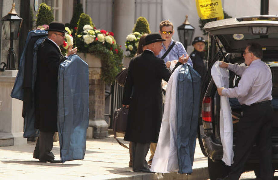 More pricey clothes come to the Goring. Photo: Jeff J Mitchell, Getty Images