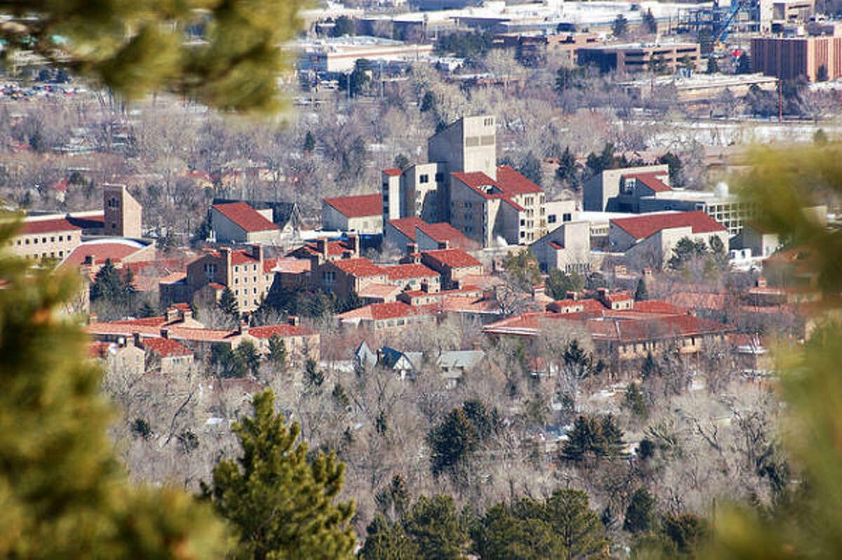 No 1: University of Colorado, Boulder According to Playboy: