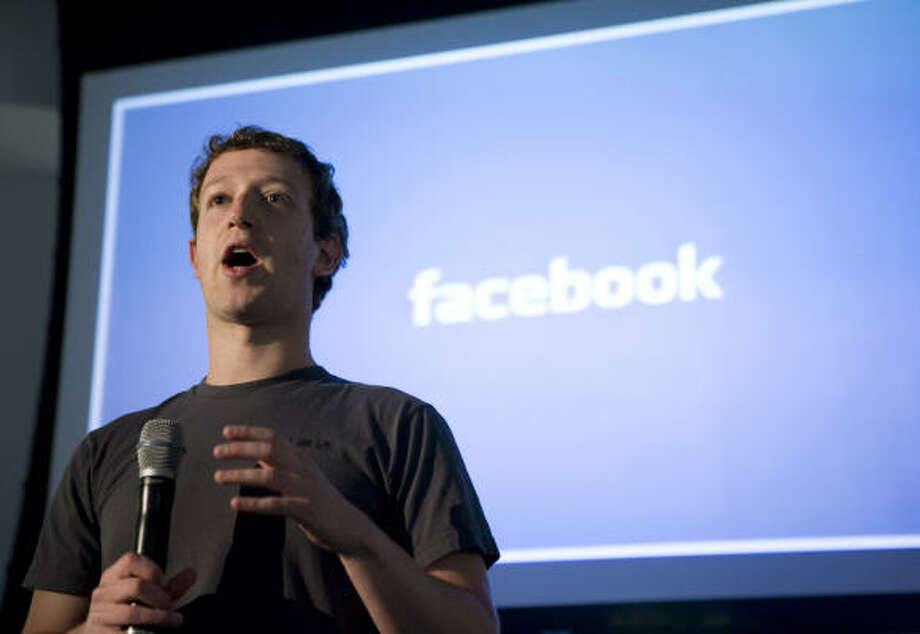 Mark Zuckerberg, CEO of Facebook Photo: KIMIHIRO HOSHINO, AFP/Getty Images