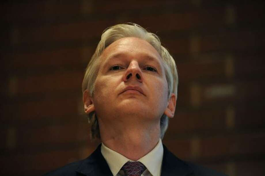 Julian Assange, WikiLeaks founder   Photo: CARL COURT, AFP/Getty Images