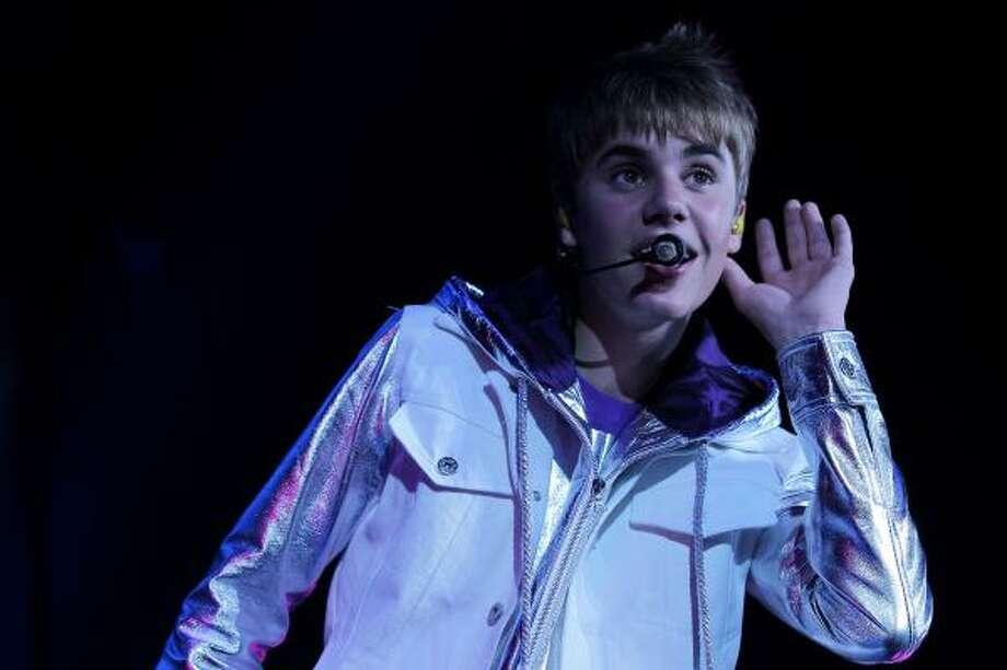 Justin Bieber, singer and teen hearthrob Photo: Chris McGrath, Getty Images