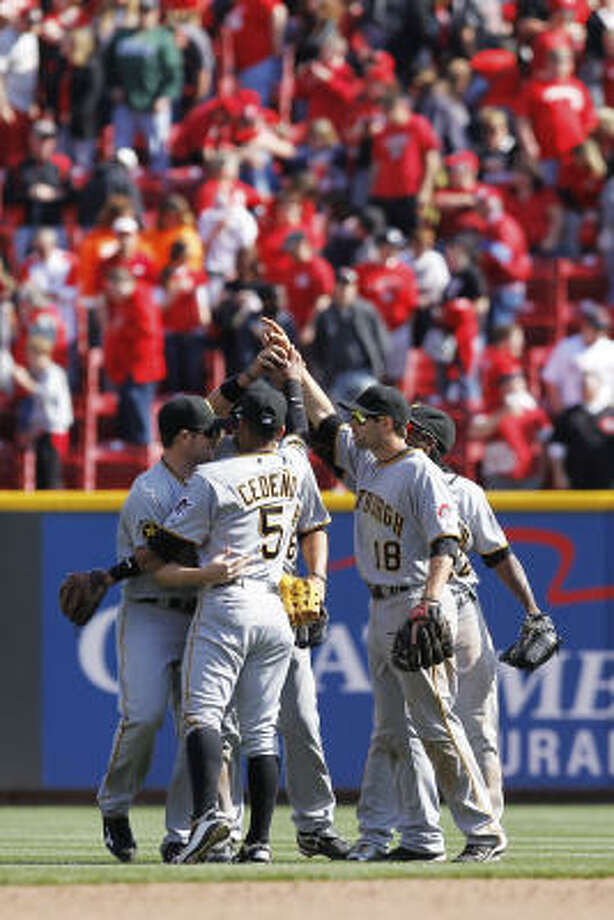 11. The Pirates won't be a pushover.Anyone expecting the Astros to stay out of last by the sheer default of Pittsburgh being Pittsburgh has a little surprise in store. Photo: Joe Robbins, Getty Images