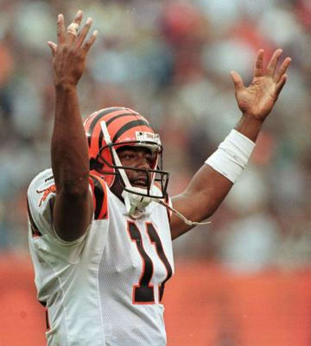 1999, Akili Smith, Cincinnati (3) In four seasons with the Bengals, he threw four TD passes and 13 INTs and was the biggest bust in team history.