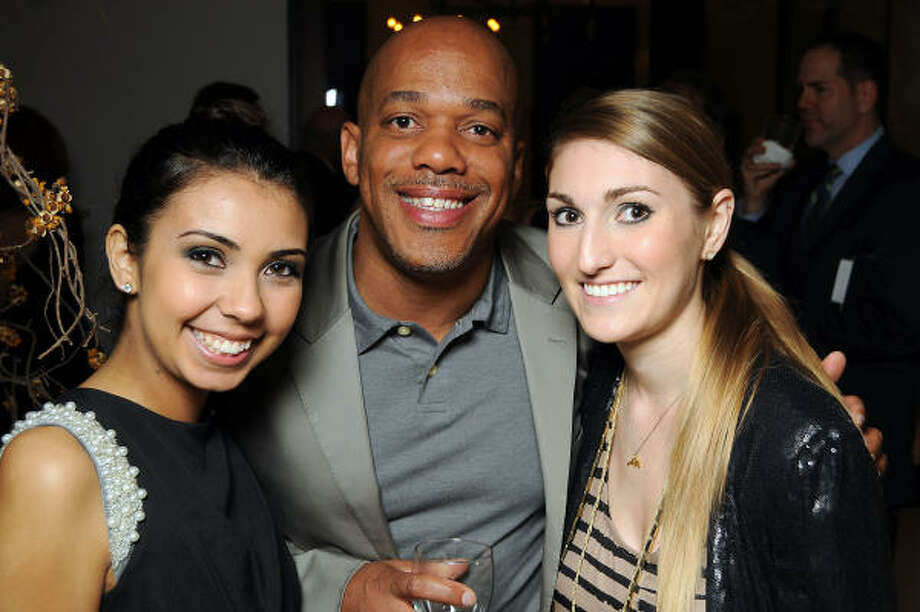 Daniella Mejia, Gary Blackshire and Heather Hill Photo: Dave Rossman, For The Chronicle
