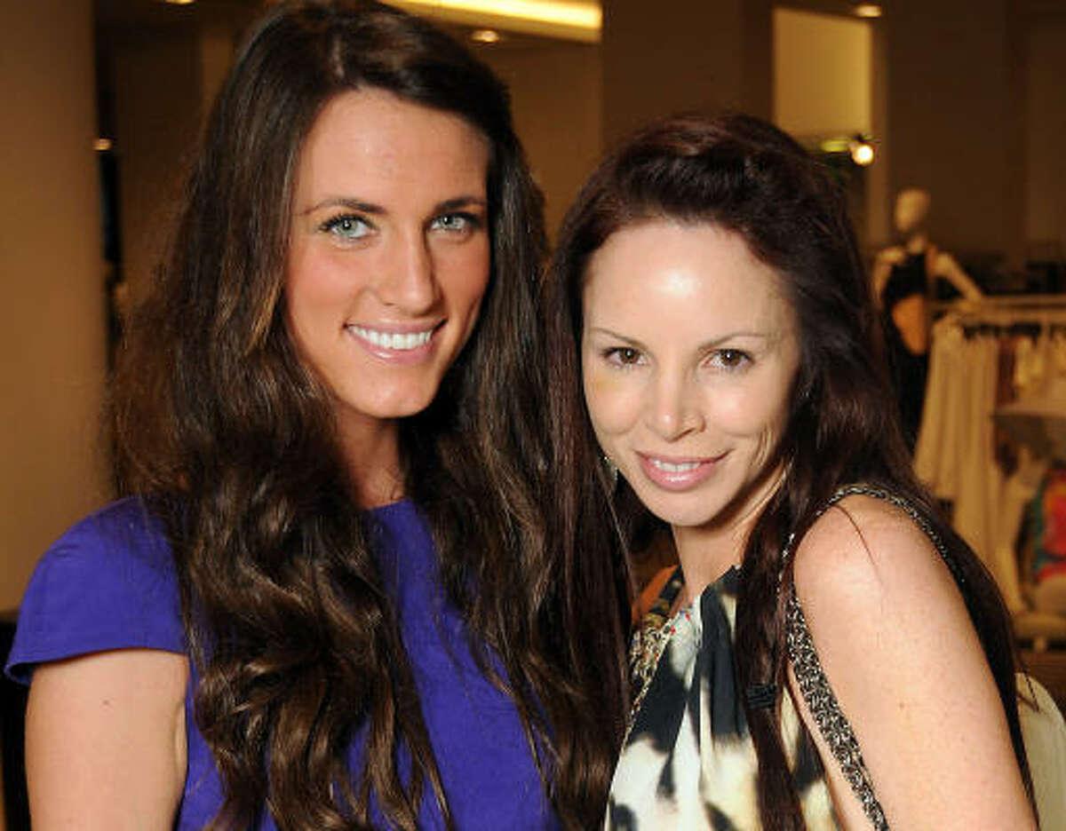 Lauren Craft and Aries Milan