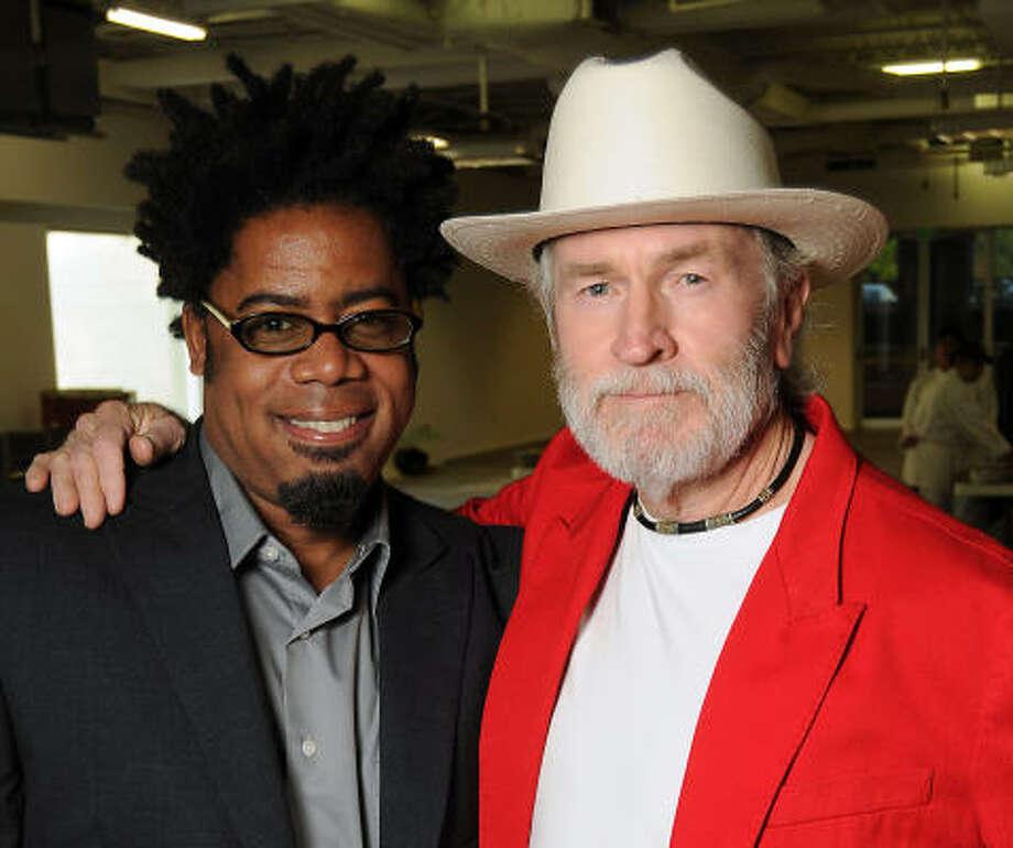 David McGee and Wayne Gilbert Photo: Dave Rossman, For The Chronicle