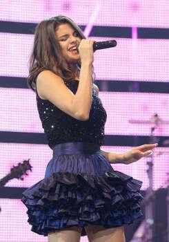 Selena Gomez performs during the Houston Livestock Show and Rodeo. Photo: Karen Warren, Houston Chronicle