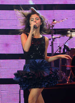 Selena Gomez performs during the Houston Livestock Show and Rodeo. Photo: Karen Warren, Houston Chronicle
