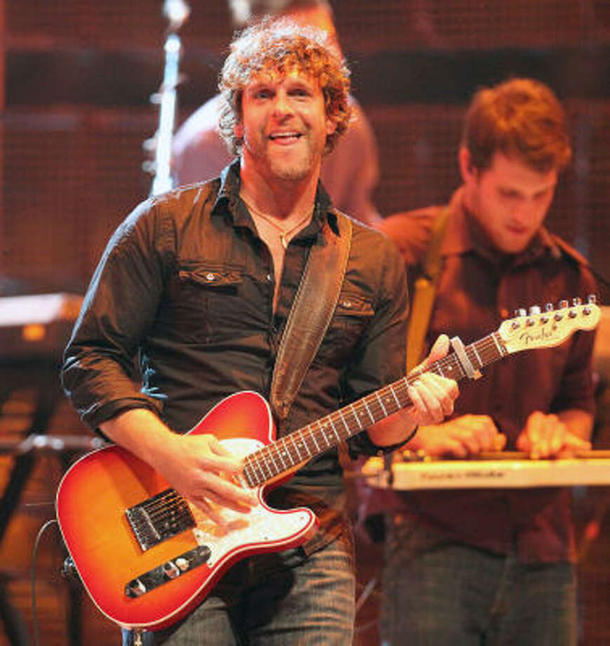 Billy Currington performs in concert during the Houston Livestock Show and Rodeo at Reliant Stadium Saturday, March 5, 2011, in Houston. Photo: James Nielsen, Houston Chronicle