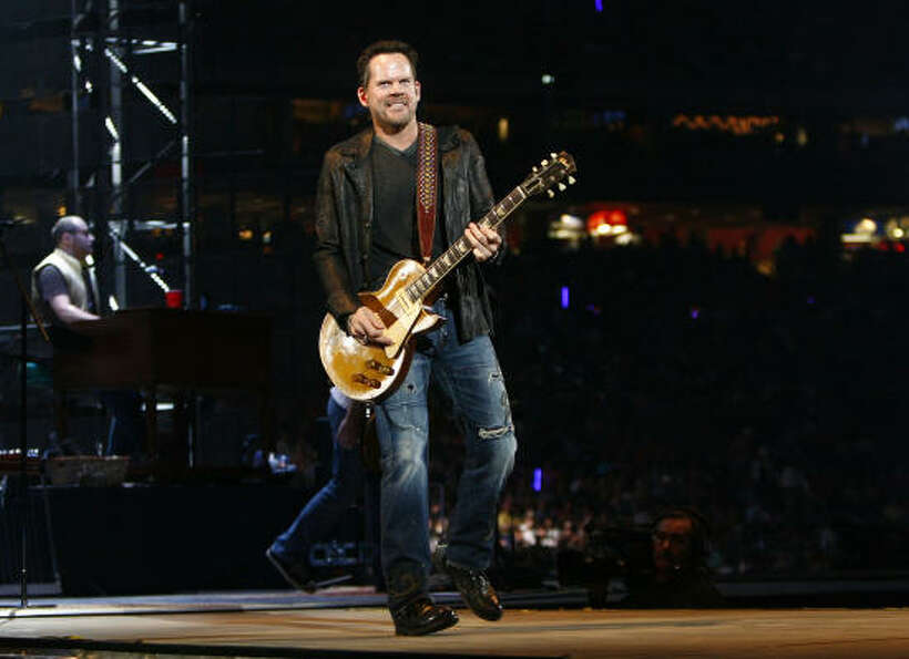 Gary Allan performs at the Houston Livestock Show and Rodeo Saturday, March 12, 2011, in Houston.