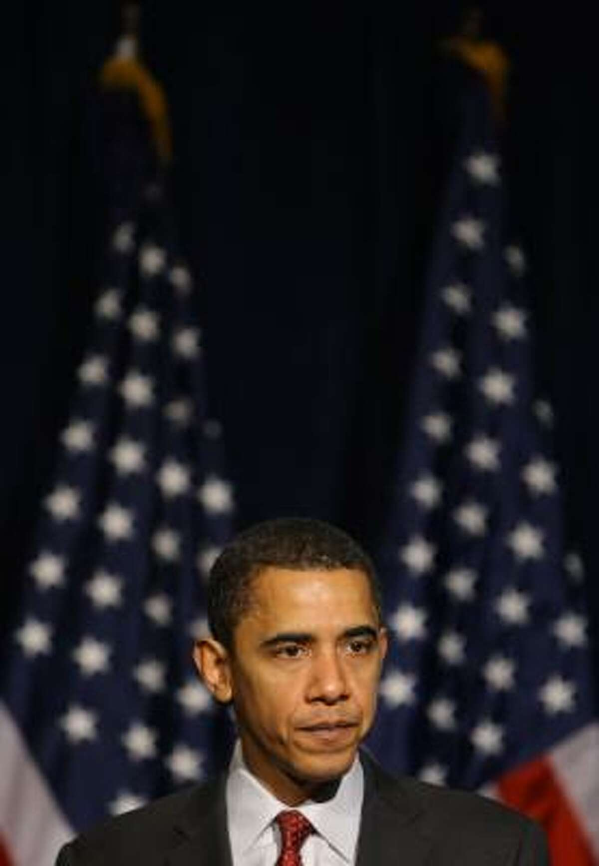 Barack Obama has tried to dispel rumors that he is not patriotic.