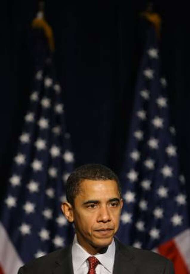 Barack Obama has tried to dispel rumors that he is not patriotic. Photo: EMMANUEL DUNAND, AFP/Getty Images
