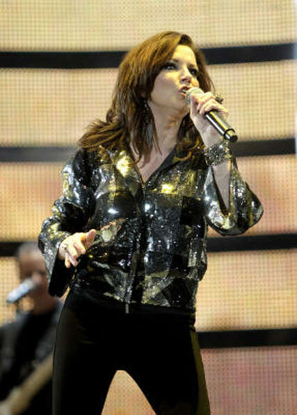 Martina McBride performs at the Houston Livestock Show and Rodeo, Wednesday, March 9, 2011, in Houst