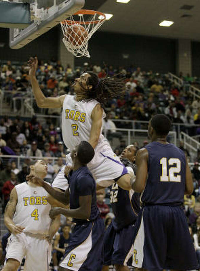 Terran Petteway6-5  -  G/F  -  Ball  -  signed withTexas Tech Photo: Thomas B. Shea / Special To The