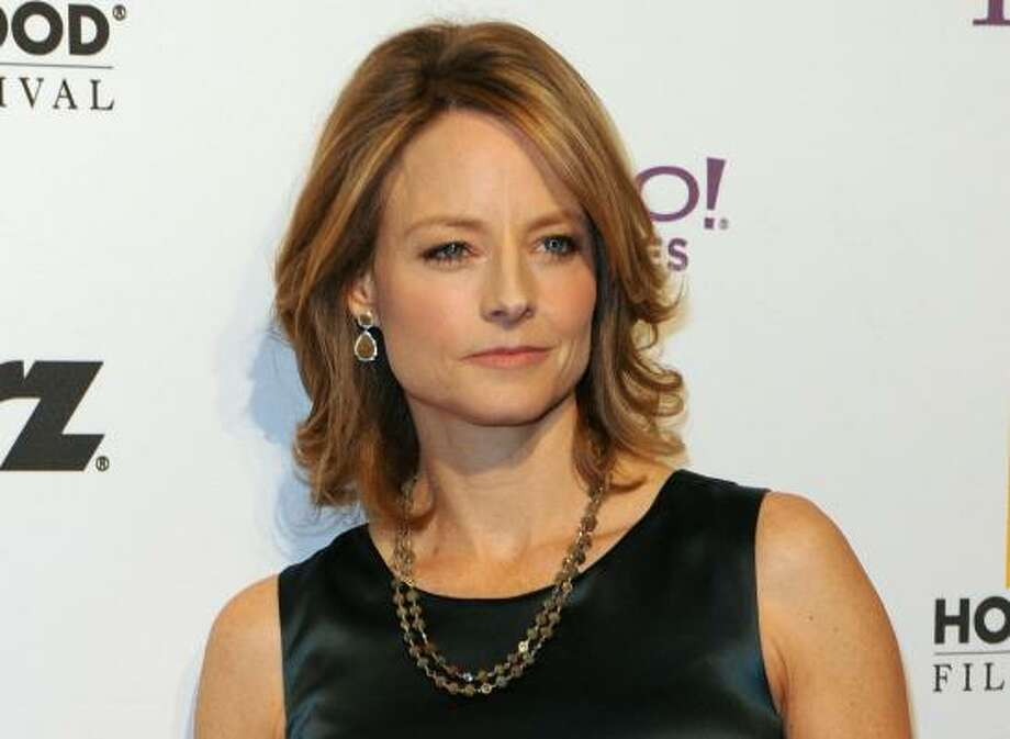 Jodie Foster, 2011, age 48. Inside Man; The Brave One; Nim's Island. Photo: MARK RALSTON, AFP/Getty Images